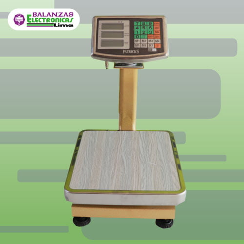Balanza de Plataforma Patricks 60 kg