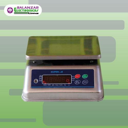 Balanza Gramera Super 6 15 kg