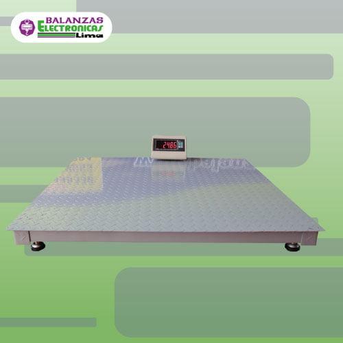Balanza industrial de rampa Yaohua T7
