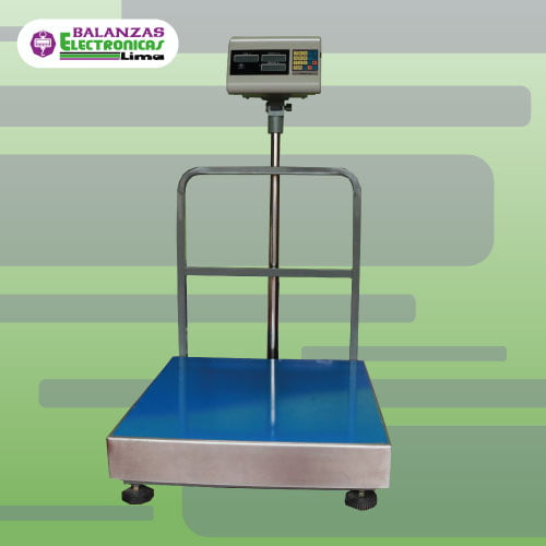 Balanza de Plataforma Excell Lap 500 y 600 kg