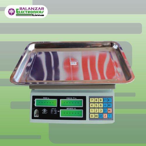 Balanza Comercial Excell AM3 30 Kg