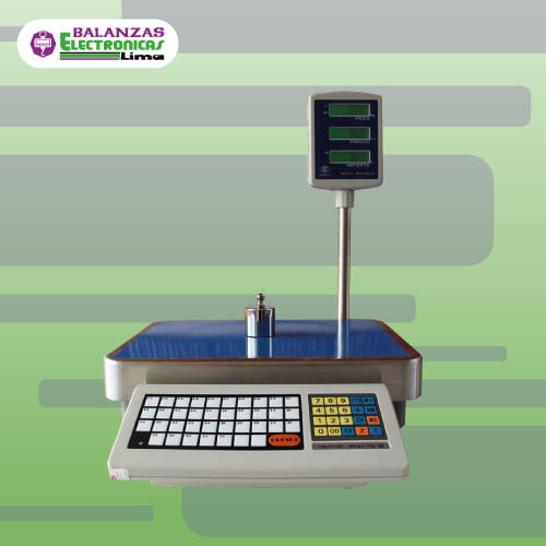 Balanza Comercial Excell TBLP 60 Kg