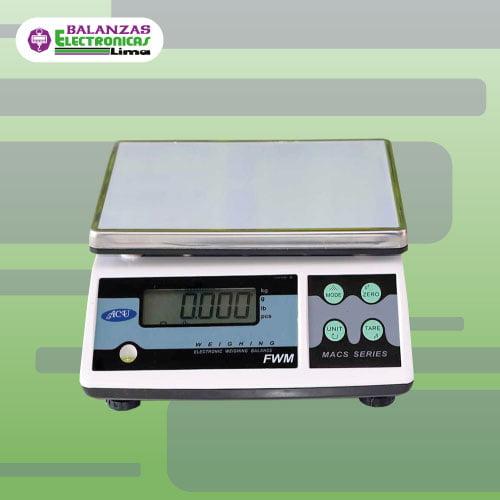 Balanza Gramera Acu FWN Cuenta Piezas 30 kg