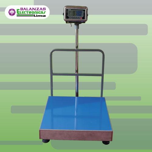 Balanza de Plataforma T-Scale BW 500 y 600 kg