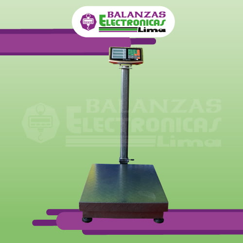 Balanza de Plataforma Patricks de 300 Kilos