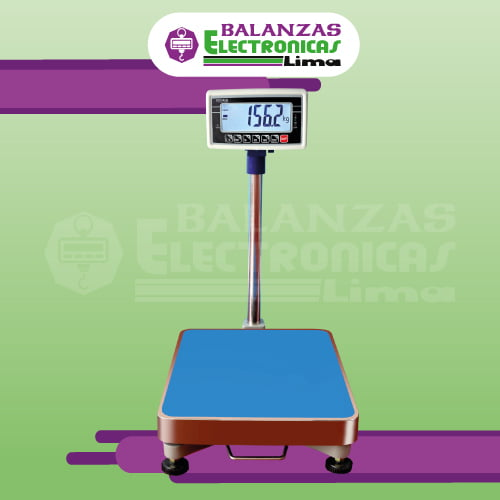 Balanza de Plataforma T-Scale BW de 300 kilos