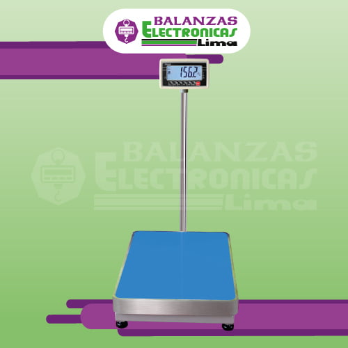 Balanza de Plataforma T-Scale BW de 500 Kilos